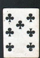 Petite Carte à Jouer: 3,7 X 5,0 Cm, 7 De Trefle - Playing Cards