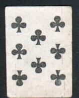 Petite Carte à Jouer: 3,7 X 5,0 Cm, 8 De Trefle - Playing Cards