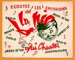 BUVARD - Ecoutez Les Emissions De La Pie Qui Chante - Radio Luxembourg - Radio Monte Carlo - Animaux