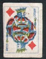 Petite Carte à Jouer: 3,7 X 5,0 Cm, Roi De Carreau - Playing Cards