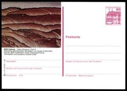 72922) BRD - P 138 - P1/9 - * Ungebraucht - 8630 Coburg, Geschichteter Sandstein Im Natur-Museum - Illustrated Postcards - Mint