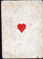Petite Carte à Jouer: 3,7 X 5,0 Cm, As De Coeur - Autres
