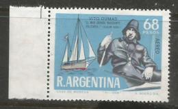 Argentina - 1968 Dumas World Voyage MNH **   Sc C112 - Ungebraucht