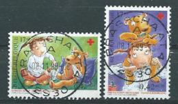 België OBP Nr: 2851 - 2852 Gestempeld / Oblitérés - Rode Kruis - Belgium