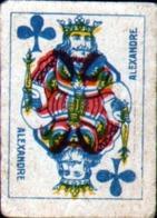 Petite Carte à Jouer: 3,7 X 5,0 Cm, Roi De Tefle - Playing Cards