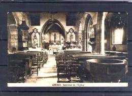 69. Chessy Aux Mines. Intérieur De L'église. Déchirure En Haut à Gauche - France
