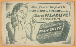 BUVARD - BLOTTING PAPER - Savon PALMOLIVE à L'huile D'Olive - Jeune Fille - Peau Jeune Et Fraîche - Parfum & Kosmetik