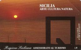 *ITALIA: PRIVATA RESA PUBBLICA - SICILIA* - Scheda NUOVA (MINT) - Italia