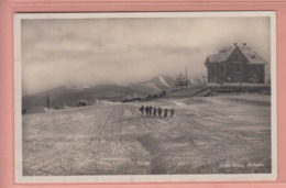 OUDE POSTKAART ZWITSERLAND - SCHWEIZ - SUISSE -   WINTERSPORT - SKI -   FLIMS  -  1926 - GR Grisons