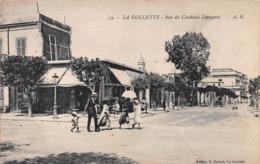 La Goulette - Halq Al-Wadi - Rue Du Cardinal Lavigerie ~ An Old Postcard #99724 - Tunisia