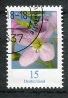 """Germany 2018 Mi.Nr.34????? Bogenmarke """"Freimarke,Blumen-Wiesenschaumkraut """"1 Wert Used - Pflanzen Und Botanik"""