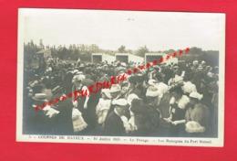 14 Calvados Carte Photo N° 5 En Bon état  Courses De BAYEUX 1908 Le Pesage Les Baraques Du Pari Mutuel (  Deslandes ) - Bayeux