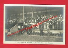 14 Calvados Carte Photo N° 3 En Bon état  Courses De BAYEUX 1908 Les Tribunes (  Deslandes ) - Bayeux