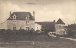 CPA Chemin Le Château - Frankrijk