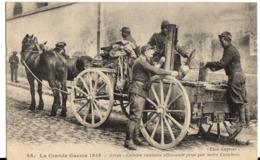 ARRAS - La Grande Guerre 1914 - Cuisine Roulante Allemande Prise Par Notre Cavalerie - Arras