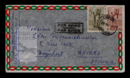 Portugal Setúbal Pmk 20-XII-1950 Archeology Art History Int. Congress Sculpturs Archéologie Gc4397 - Archäologie