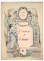 Bonheur Et Prospérité 1884-1909  J.Cassiers-L.Suetens Antwerpen - Autres