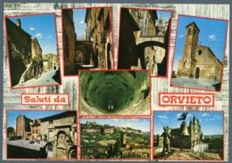 °°° Cartolina - Saluti Da Orvieto Vedute Nuova °°° - Terni