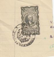 MARCA GOVERNATIVA DA LIRE CINQUE - 1900-44 Victor Emmanuel III.