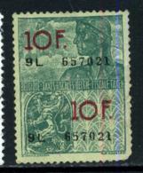 Belgique Fiscal - Revenue Stamps