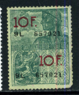 Belgique Fiscal - Timbres