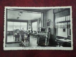 """De Panne - Adinkerke  Café """" Au Drapeau Français """"   ( 2 Scans ) - De Panne"""
