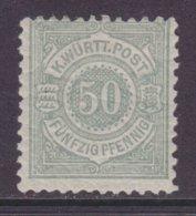 Württemberg MiNr. 51 * - Wurtemberg