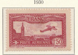 PIA - FRA -1930 : Aereo Che Sorvola Marsiglia  - (Yv P.A. 5-6) - Aerei