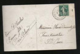 MILLESIME 1 Sur YT 137 - Cp Du 5décembre 1912 - Marcophilie (Lettres)