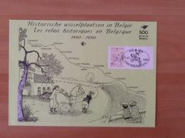 2350HKs1Groene Kaart. - Erinnerungskarten