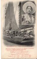 BOULOGNE-sur-MER - Bateau Harenguier En Partance - Boulogne Sur Mer