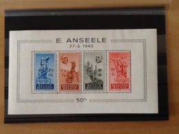 BL26* Anseele ( Postzegels In Het Blok Zijn Zonder Plakker). - Blocs 1924-1960