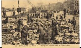 BOULOGNE-sur-MER - 3 Cartes Poissonnier - Boulogne Sur Mer
