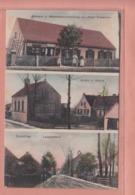 OLD POSTCARD -   POLAND -  SUCHY BOR - DERSCHAU - BAKERY - SCHOOL - LEOPOLDSFAHRT - 1912 - Poland