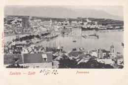 Split (Spalato) * Hafen, Segelboot, Schiffe, Gesamtansicht * Kroatien * AK1972 - Croatia