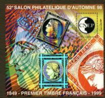 Timbre Neuf ** France, Bf CNEP N°28, 1999, 1er Timbre Français Hologramme Cérès - CNEP