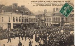CALAIS - Funérailles Nationales Des Victimes Du Pluviose - 22 Juin 1910 - Calais