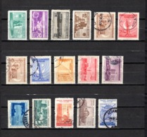 Turquía  1955 .-   Y&T Nº  1244/1247-1248/1251-1252/1255-1256/1259 - Usados