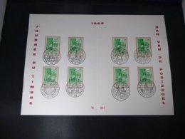 """BELG.1965 1328 FDC Filatelic  Echophil Card : """" Dag Van De Postzegel / Journéé Du Timbre """" - FDC"""