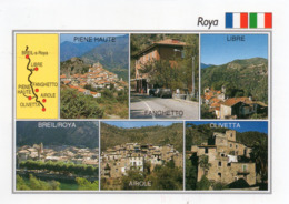 CPM - F - ALPES MARITIMES - ITALIE - VALLEE DE LA ROYA - PIENNE HAUTE - FANGHETTO - LIBRE - BREIL - AIROLE - OLIVETTA - Francia