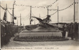 CALAIS - Inauguration Du Monument Aux Victimes Du PLUVIOSE - Calais