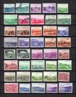 Turquía  1959-60 .-   Y&T Nº  1480/1519    (  1488 Y  1490  Falta Punta  ) - Usados