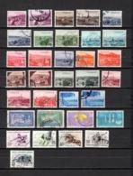 Turquía  1960 .-   Y&T Nº  1532/1544-1546/1557-1558/1559-1560/1561-1562/1566 - 1921-... République