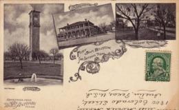 237 / Greetings From San Antonio, Tower, Fort Sam Houston, Officers Quarters 1905 - San Antonio