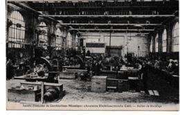 Non Circulé Société Française De Constructions Mécaniques Anciens établissements CAIL Atelier De MODELAGE - France