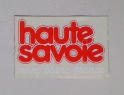 France Haute Savoie Mont Blanc Sticker Autocollant - Stickers