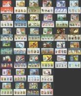 ST1607-ST1636,ST1695-ST1702 S.TOME & PRINCIPE 2014 FAUNA FAMOUS PEOPLE TRANSPORT 38KB+38BL MNH - Celebridades