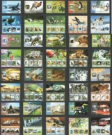 ST1675-ST1694 2014 S.TOME & PRINCIPE FAUNA BIRDS ANIMALS TRANSPORT MARINE LIFE 20KB+20BL MNH - Briefmarken