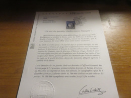 Document Officiel 1° Jour Du Timbre Céres 170 Ans De Mars 2019 - 2010-....