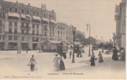 Lausanne - Place St. François - Animé - Trams - Edit. Channaux Frères Et C°, Genève 5520 - VD Vaud